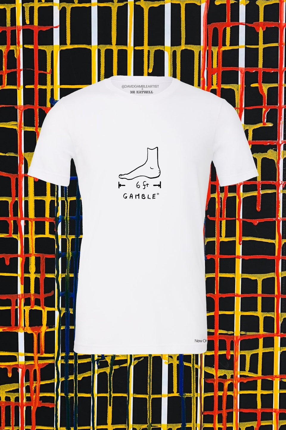 David Gamble x MR EATWELL Big Foot T-Shirt - MR EATWELL