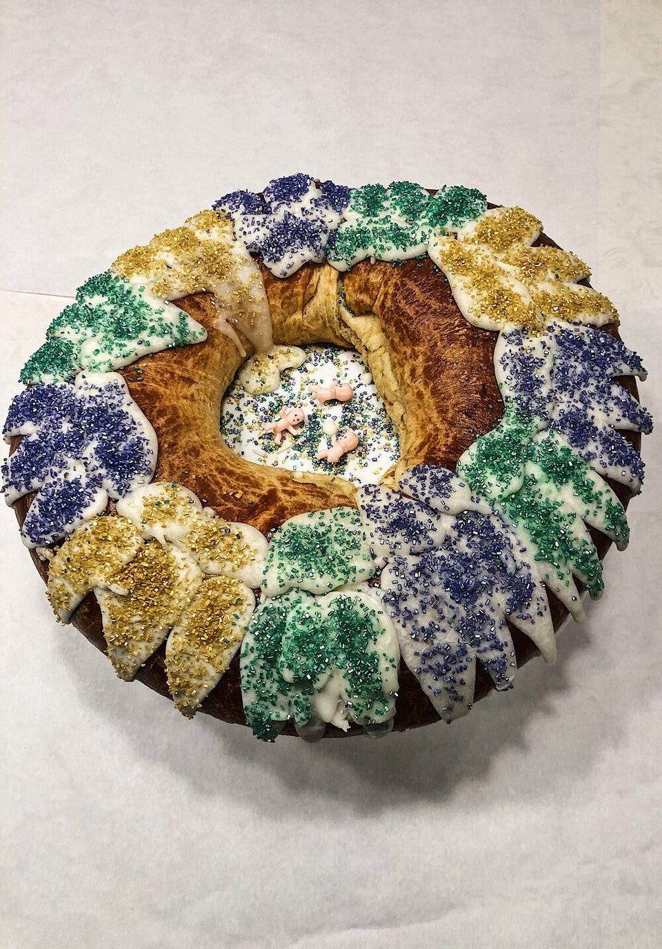 "King Cake Crew in ""Cream Cheese"" - MR EATWELL"