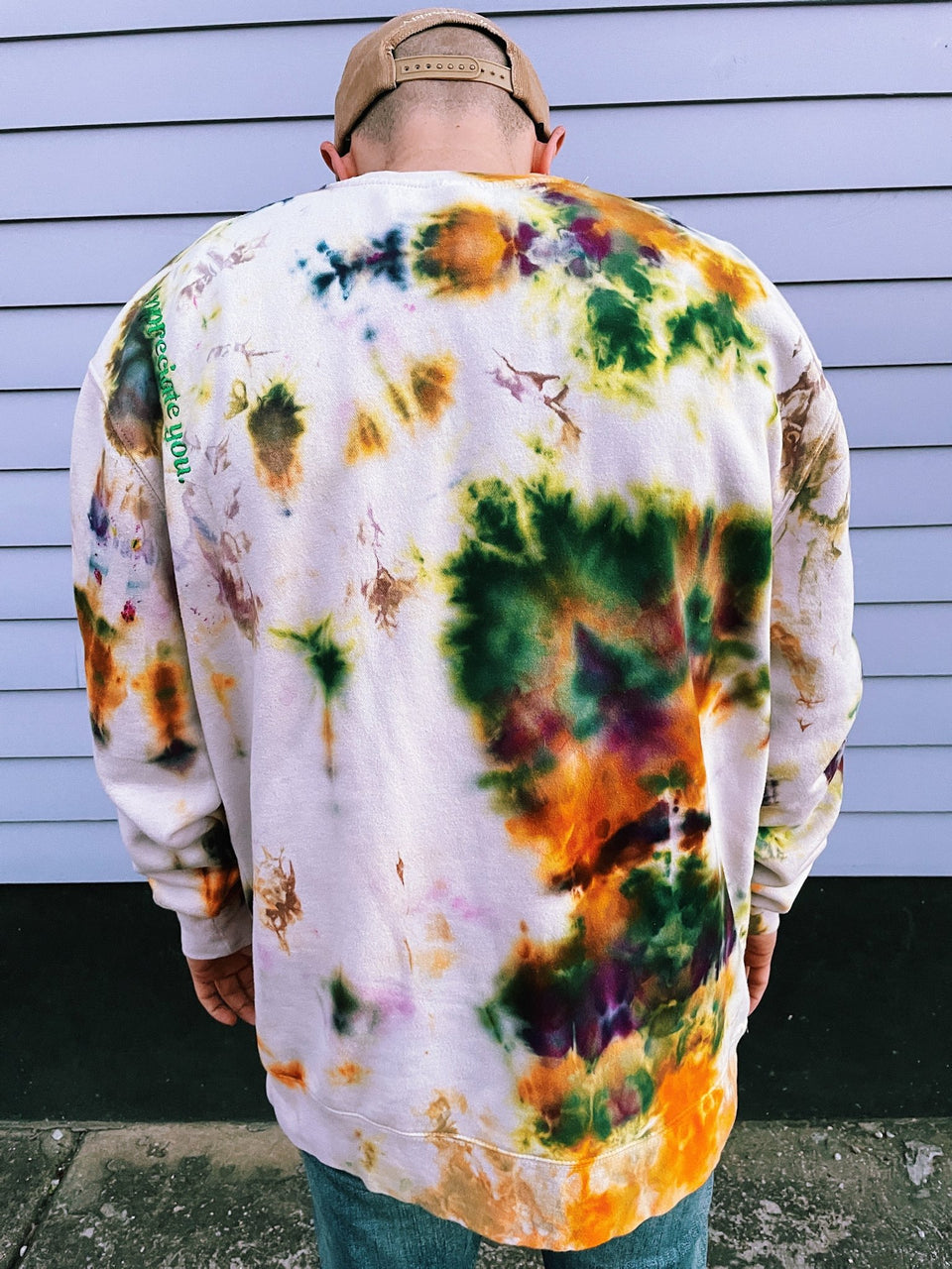 "King Cake Crew in ""PsychedeliCarnival"" Ice Tie Dye - MR EATWELL"