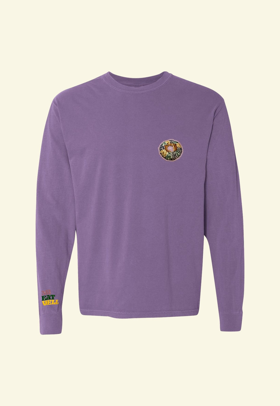 King Cake LS Tee in Two Colors - MR EATWELL