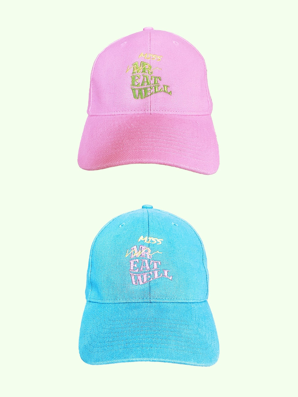 "Miss Eatwell ""Love, Light, and Logo"" Hat in 2 Colors - MR EATWELL"