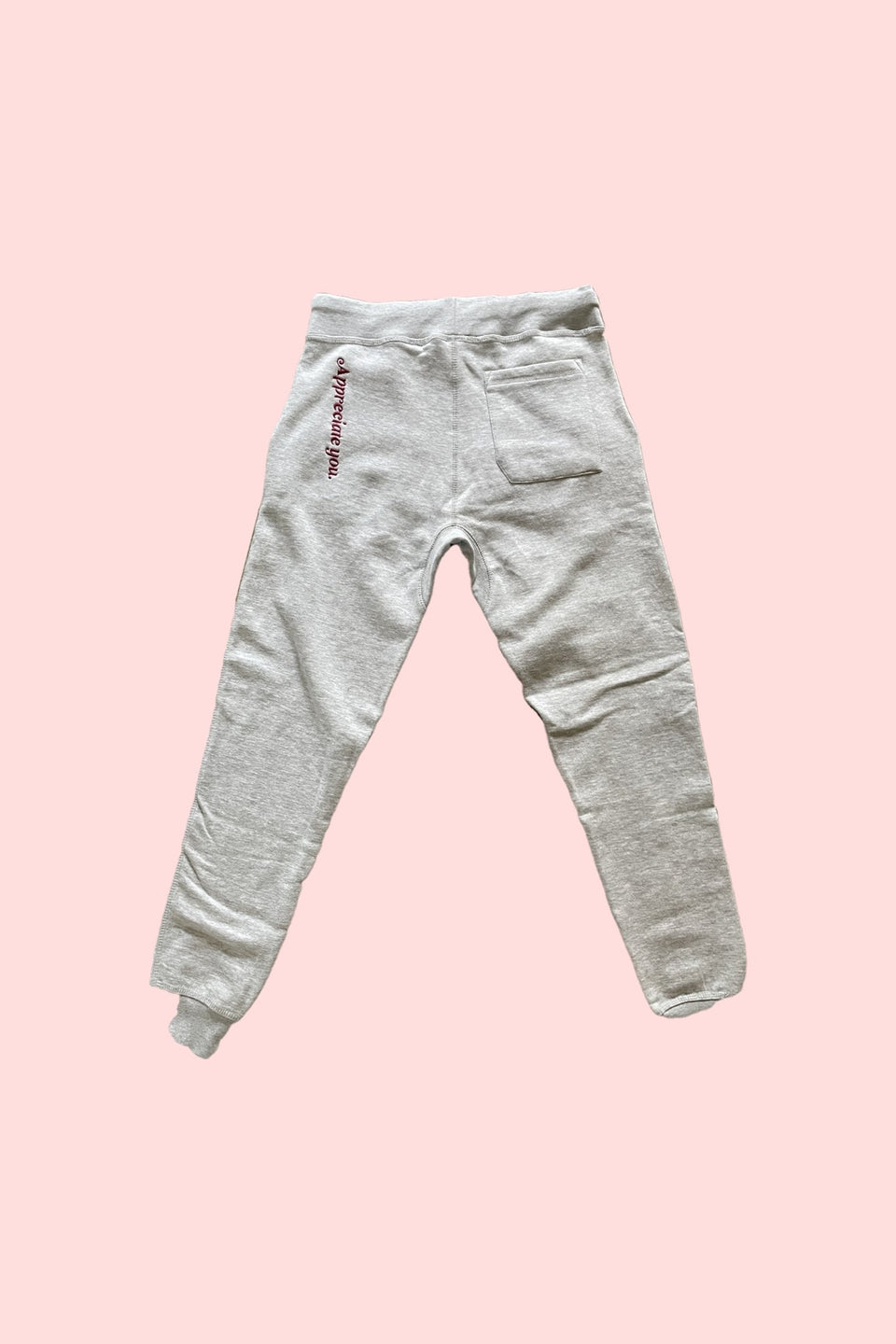 "MR E x Crystal Terry Jogger in ""Grey"" - MR EATWELL"