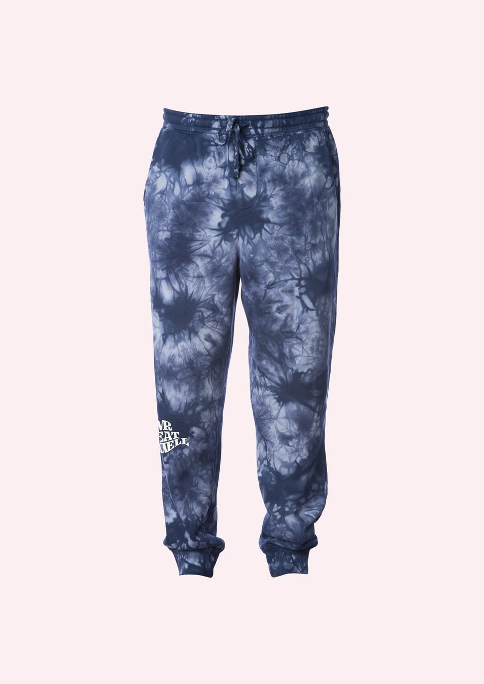 "Sweatpants in ""Hot Boxed"" Navy Tie Dye - MR EATWELL"