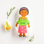 African Doll Child's Sewing Kit
