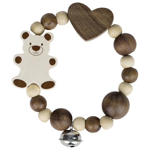 Bear Elastic Baby Touch Ring