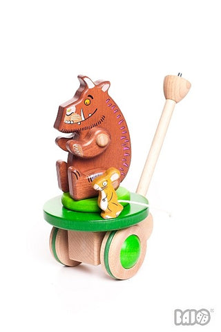Gruffalo & Mouse Wooden Push Along Toy