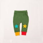 Organic Fair Trade Star Joggers - Woodland Green