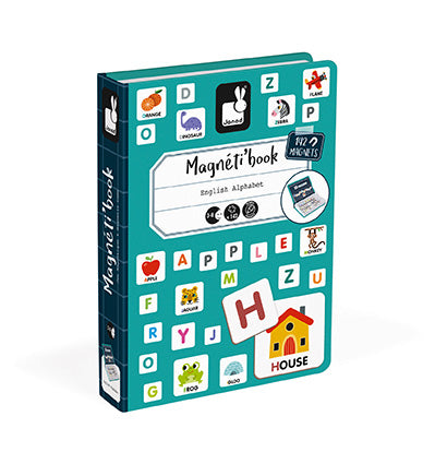 English Alphabet Magneti'book Learning Game