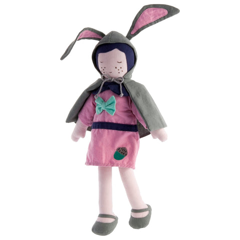 Fair Trade Forest Doll Rose