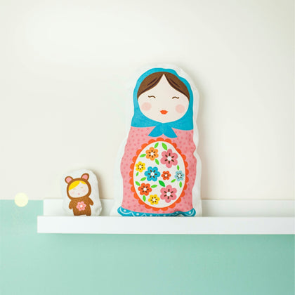 Matryoshka Doll Child's Sewing Kit