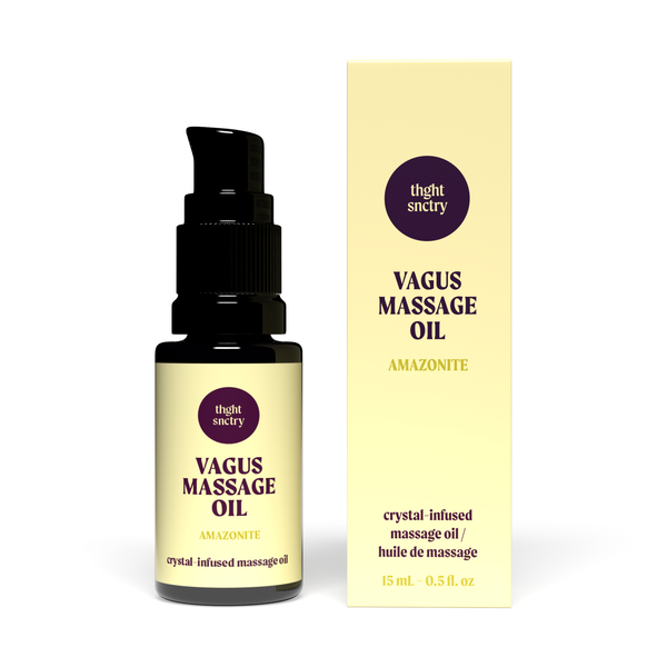 thght snctry Vagus Massage Oil