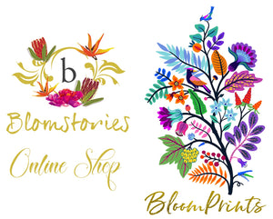 BLOMSTORIES / BLOOMPRINTS ONLINE SHOP