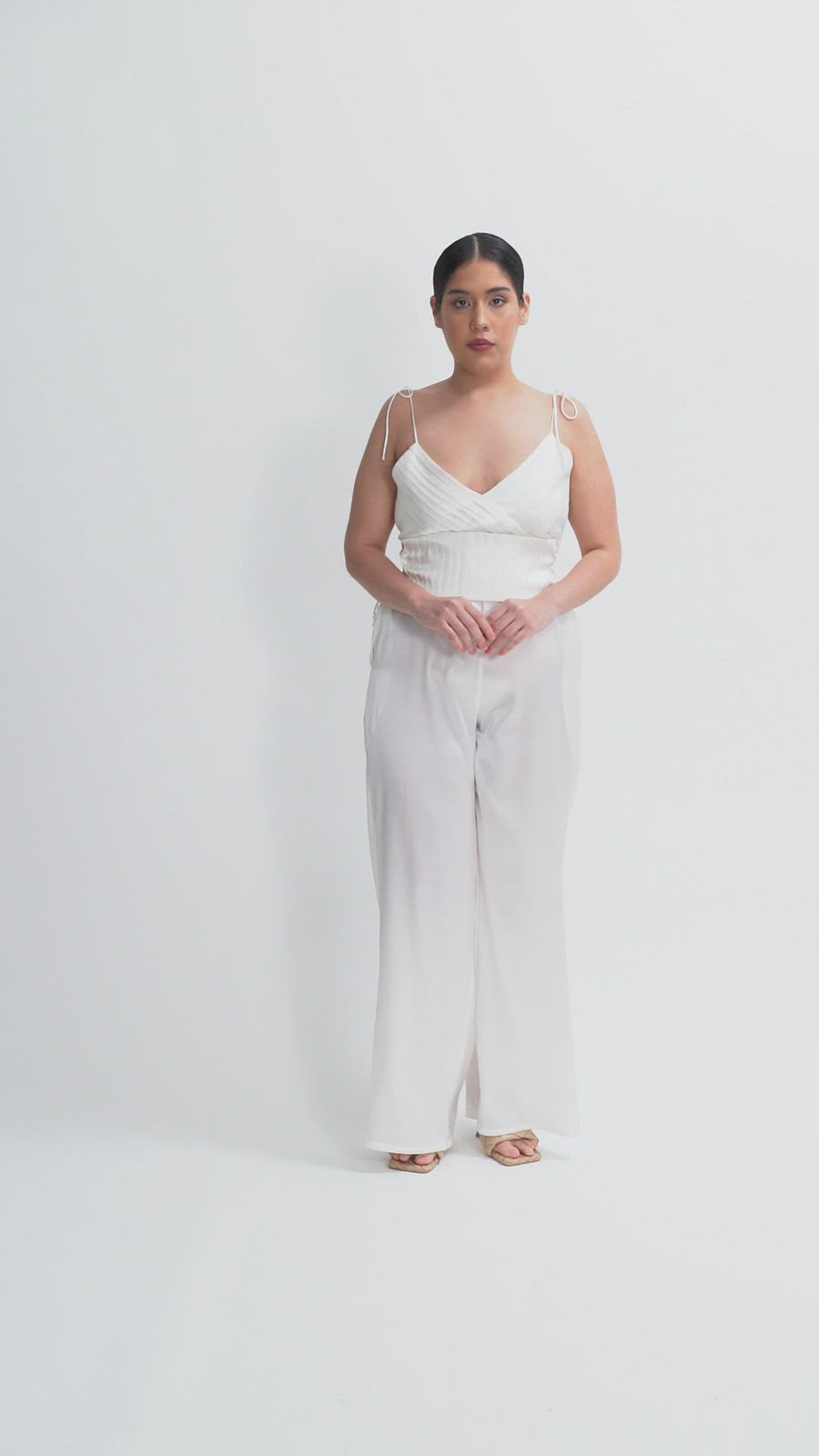 The Isabella Jumpsuit | White