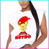 Coolin Red Retro Tweety Shirt