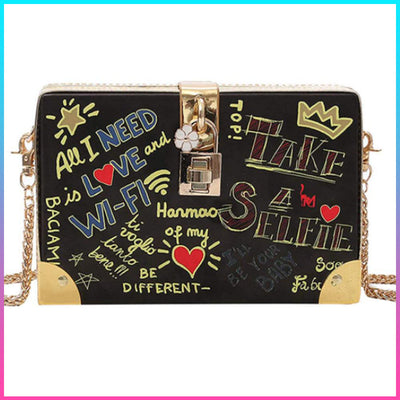 "Trendy ""Take A Selfie"" Crossbody Bag"