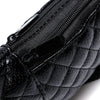Gorgeous Quilted Black Fanny Pack - Beauty Innate