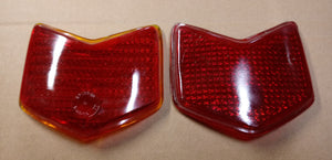 1940 Ford taillight lenses pair