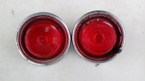 1955 Ford taillight assemblies pair