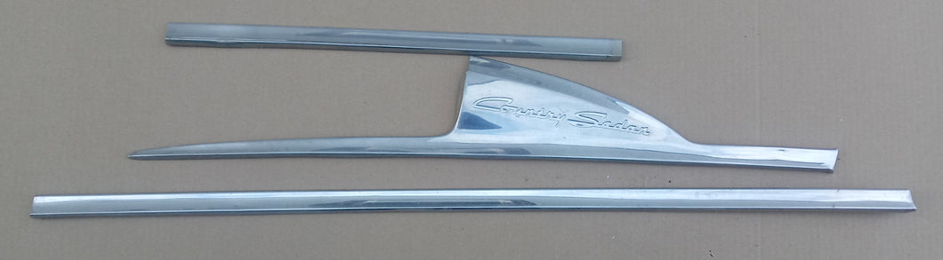 1956 Ford Country Sedan door trim RH