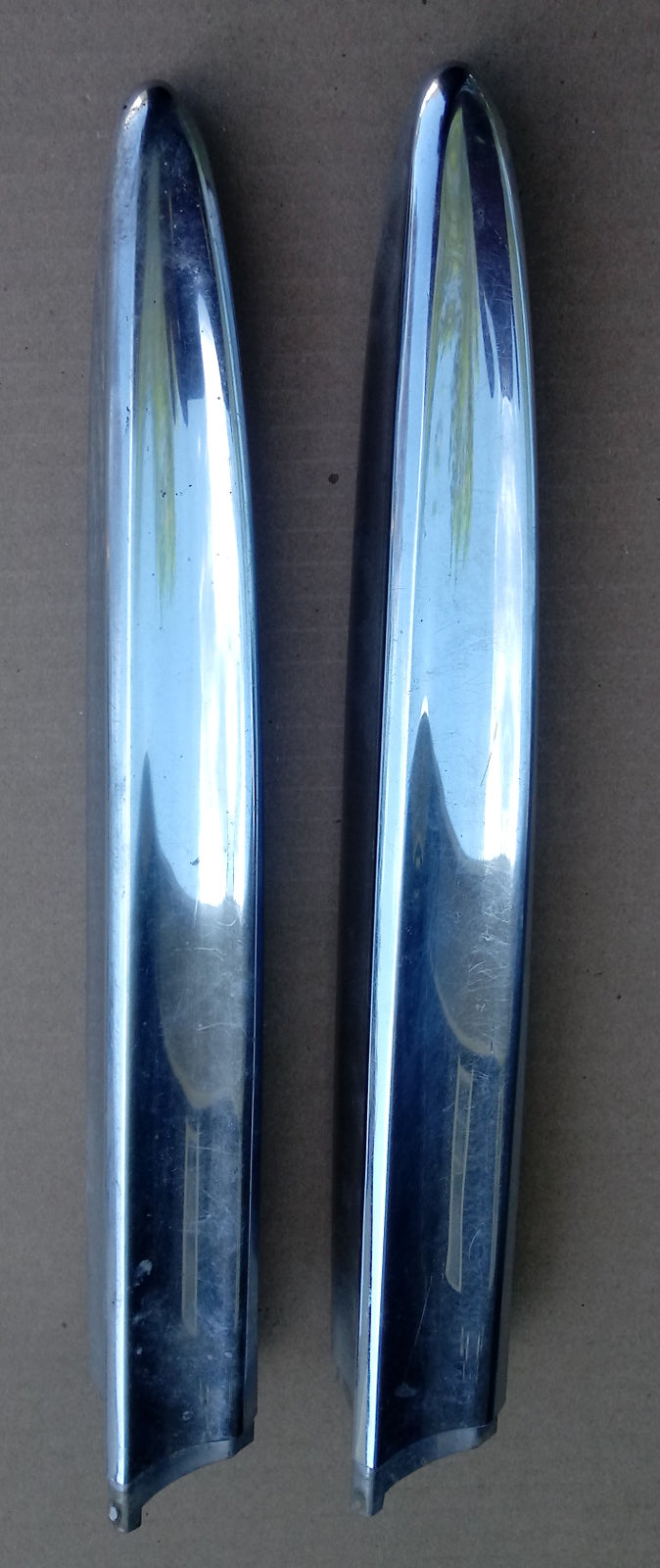1957 Chevrolet 210 side trim bars