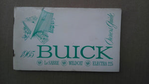 1965 Buick owners manual