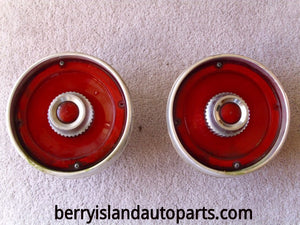 1965 Ford Custom taillight assemblies pair