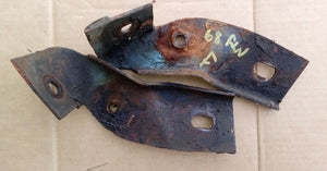 1968-69 Ford Fairlane front bumper end brackets