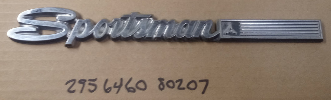 1969-1977 Dodge Sportsman Fender Emblem