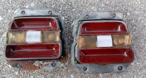 1969 Ford Fairlane taillight assemblies pair