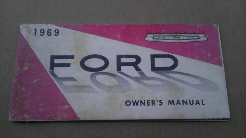 1969 Ford owners manual