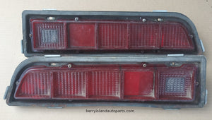 1970-71 Ford Torino taillight assemblies pair