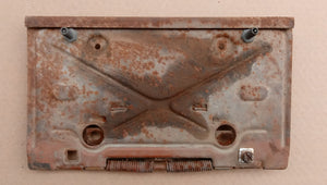 1971 Chevrolet Malibu rear plate holder