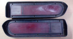 1972-73 Ford Torino taillight lens pair