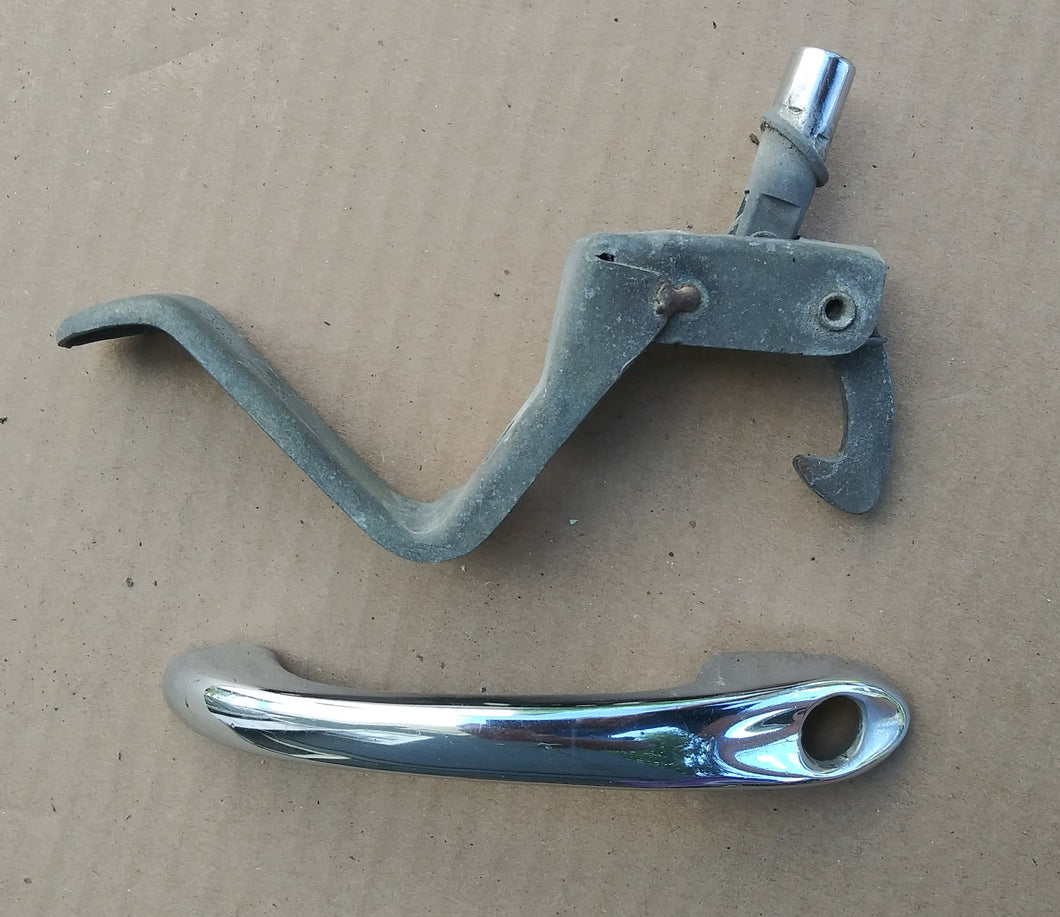 1972 VW Beetle front hood/trunk handle
