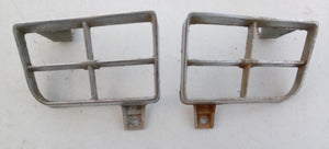 1977 Pontiac Trans AM turn signal bezels pair