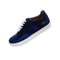 Custom Josniel 2019 Collection Blue Leather Sneaker - Rex Fabrics