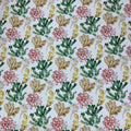 Palmeiras Varadero 15 Coral Green Red and Coral Printed Fabric - Rex Fabrics