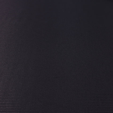 Shiny Black Stripes Gessato Stretto Nero Acetate & Cotton Formal Dinner Jacket Ariston Fabric