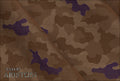 Ariston Leisure & Sport Collection Brown Camouflage Suiting - Rex Fabrics