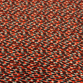 Nude, Red and Black Abstract Printed Fabric - Rex Fabrics