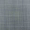 15 Milmil 15: Grey Windowpane Australian Wool Suiting - Rex Fabrics