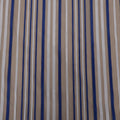 Blue and White Organza Fabric - Rex Fabrics
