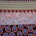 Multicoloured Multi Patterned Printed Polyester - Rex Fabrics