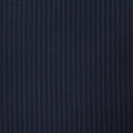 Ermenegildo Zegna Cloth I SUMMERTIME Blue Stripe Suiting Fabric - Rex Fabrics