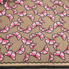 Pink Abstract Embroidered Tulle Fabric - Rex Fabrics