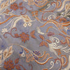 Floral Textured Multicolor Brocade Fabric - Rex Fabrics
