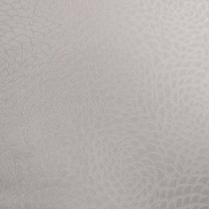 Abstract Textured White Brocade Fabric