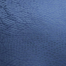 Load image into Gallery viewer, Abstract Textured Blue Brocade Fabric