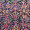 Abstract Textured Multicolor Brocade Fabric