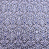 Light Blue Jacquard Textured Purple Brocade Fabric - Rex Fabrics